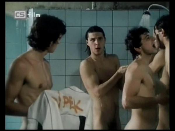 czech muscle guys showering