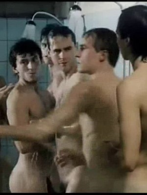czech boys showering